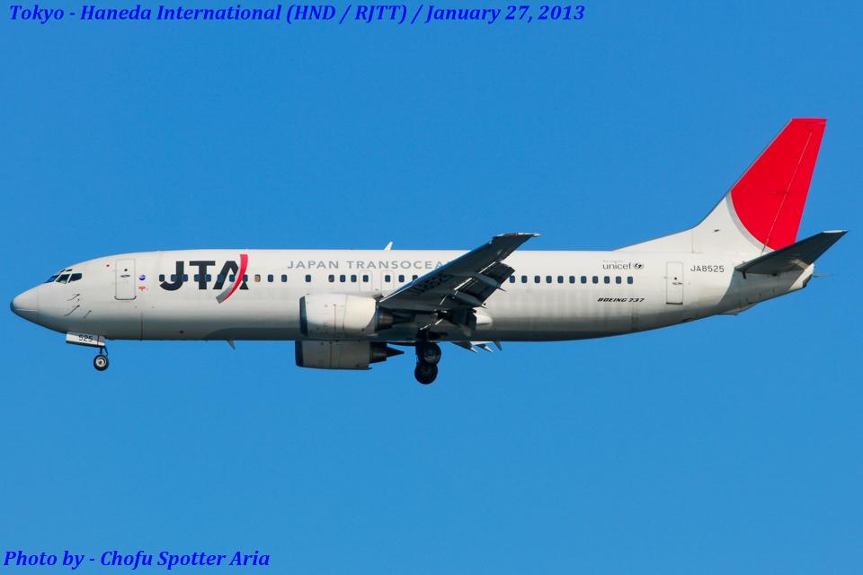 Chofu Spotter Ariaさんの日本トランスオーシャン航空 Boeing 737-400 (JA8525) 航空フォト