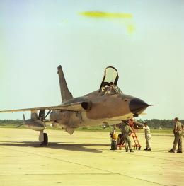 Y.Todaさんが、松島基地で撮影したアメリカ空軍 F-105D Thunderchiefの航空フォト(飛行機 写真・画像)