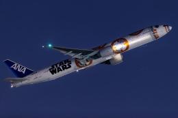 多摩川崎2Kさんが、羽田空港で撮影した全日空 777-381/ERの航空フォト(飛行機 写真・画像)