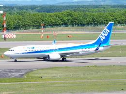 むらさめさんが、新千歳空港で撮影した全日空 737-8ALの航空フォト(飛行機 写真・画像)