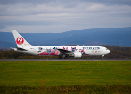 yumeさんが、旭川空港で撮影した日本航空 767-346/ERの航空フォト(飛行機 写真・画像)