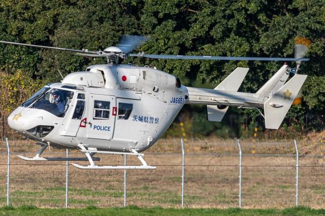 航空フォト:JA6651 ディーエイチシー BK117