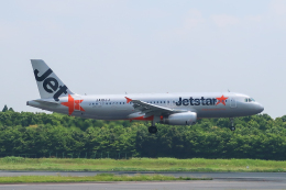 らむえあたーびんさんが、成田国際空港で撮影したジェットスター・ジャパン A320-232の航空フォト(飛行機 写真・画像)
