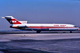パール大山さんが、ロサンゼルス国際空港で撮影したトランス・ワールド航空 727-231/Advの航空フォト(飛行機 写真・画像)