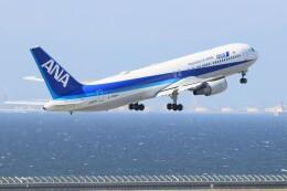 ゆなりあさんが、中部国際空港で撮影したエアージャパン 767-381/ERの航空フォト(飛行機 写真・画像)