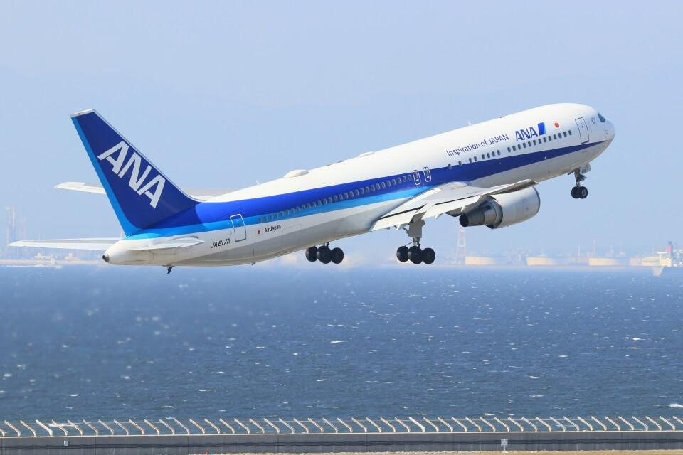 ゆなりあさんのエアージャパン Boeing 767-300 (JA617A) 航空フォト