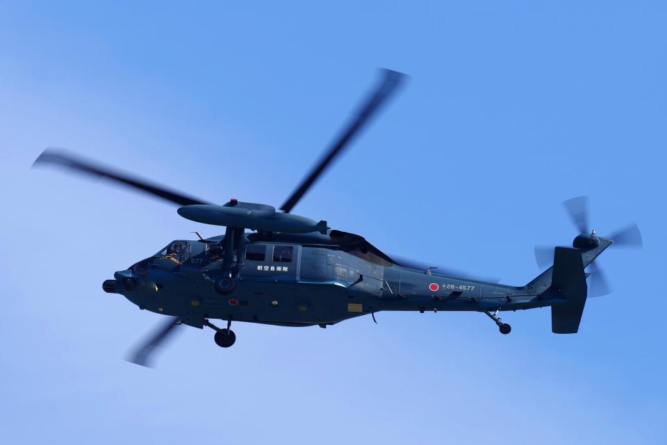 yabyanさんの航空自衛隊 Mitsubishi UH-60J (28-4577) 航空フォト