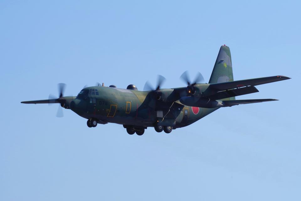 yabyanさんの航空自衛隊 Lockheed C-130 Hercules (75-1078) 航空フォト