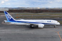 PIRORINGさんが、新千歳空港で撮影した全日空 787-8 Dreamlinerの航空フォト(飛行機 写真・画像)