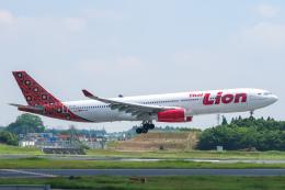 らむえあたーびんさんが、成田国際空港で撮影したタイ・ライオン・エア A330-343Xの航空フォト(飛行機 写真・画像)