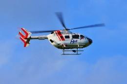 Airway-japanさんが、鹿部飛行場で撮影したセントラルヘリコプターサービス BK117C-2の航空フォト(飛行機 写真・画像)