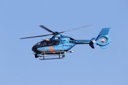 ひらひささんが、津市伊勢湾ヘリポートで撮影した福岡県警察 EC135P2+の航空フォト(飛行機 写真・画像)