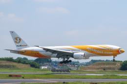 らむえあたーびんさんが、成田国際空港で撮影したノックスクート 777-212/ERの航空フォト(飛行機 写真・画像)