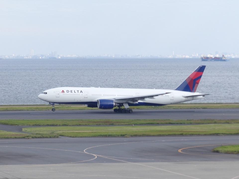 蒲田っ子さんのデルタ航空 Boeing 777-200 (N862DA) 航空フォト