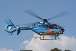 apphgさんが、静岡ヘリポートで撮影した福岡県警察 EC135P2+の航空フォト(飛行機 写真・画像)