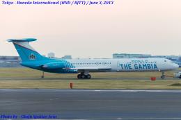 Chofu Spotter Ariaさんが、羽田空港で撮影したガンビア政府 Il-62Mの航空フォト(飛行機 写真・画像)