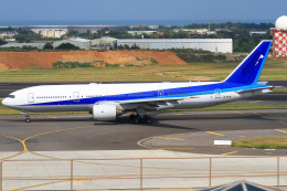 Cheng En Choさんが、台湾桃園国際空港で撮影した全日空 777-281/ERの航空フォト(飛行機 写真・画像)