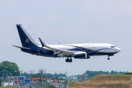 らむえあたーびんさんが、成田国際空港で撮影したボーイング・ビジネス・ジェット 737-77Z BBJの航空フォト(飛行機 写真・画像)