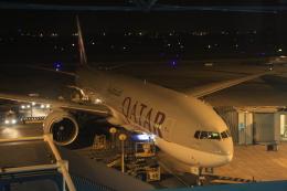 Hiro-hiroさんが、ノイバイ国際空港で撮影したカタール航空 777-3DZ/ERの航空フォト(飛行機 写真・画像)
