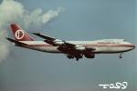 tassさんが、成田国際空港で撮影したマレーシア航空 747-236B(SF)の航空フォト(飛行機 写真・画像)