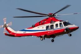 T spotterさんが、ホンダエアポートで撮影した埼玉県防災航空隊 AW139の航空フォト(飛行機 写真・画像)