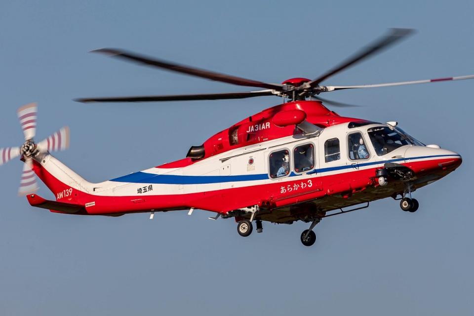 T spotterさんの埼玉県防災航空隊 AgustaWestland AW139 (JA31AR) 航空フォト