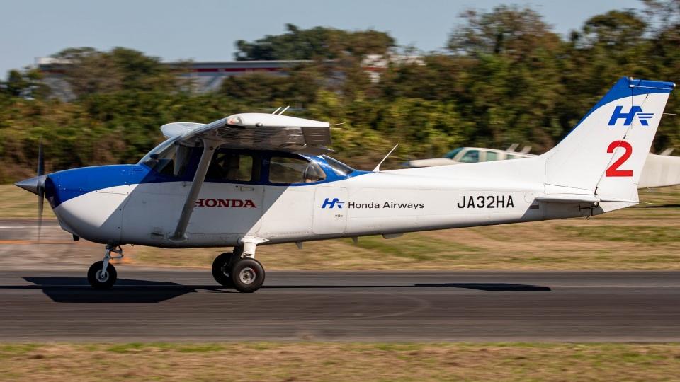 T spotterさんの本田航空 Cessna 172 (JA32HA) 航空フォト