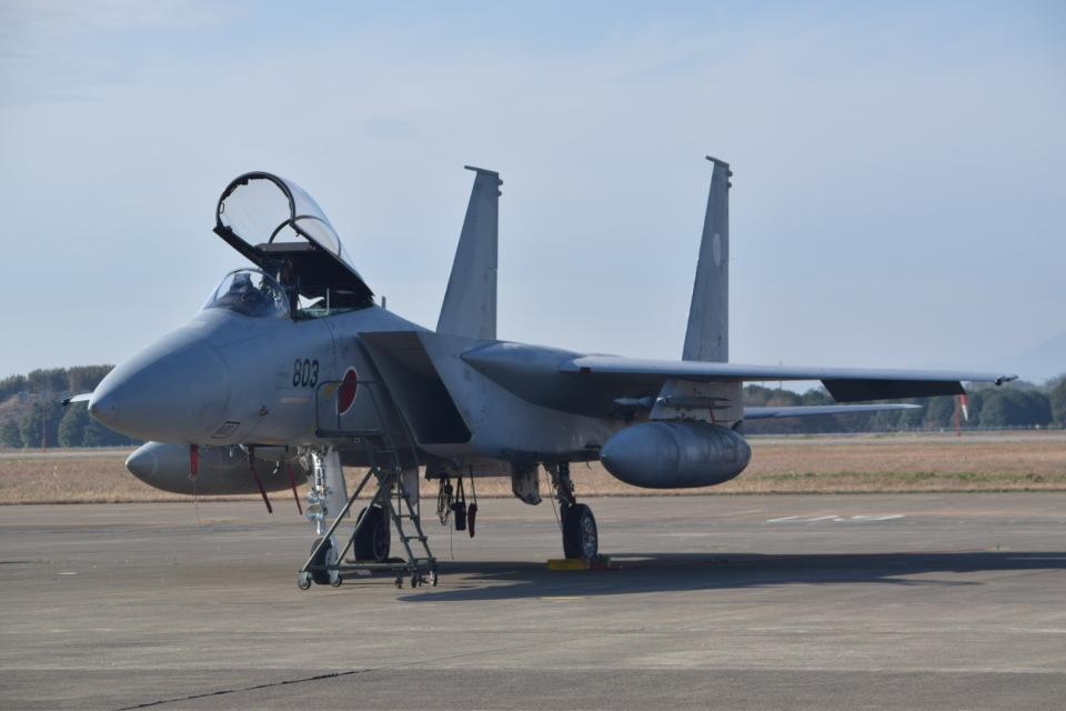 東空さんの航空自衛隊 Mitsubishi F-15J Eagle (12-8803) 航空フォト