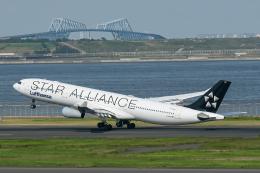 AY_A350さんが、羽田空港で撮影したルフトハンザドイツ航空 A340-313Xの航空フォト(飛行機 写真・画像)