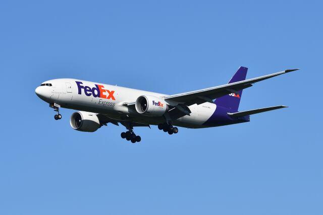 ポン太さんが、成田国際空港で撮影したフェデックス・エクスプレス 777-FS2の航空フォト(飛行機 写真・画像)