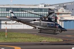 walker2000さんが、東京ヘリポートで撮影した警視庁 A109S Trekkerの航空フォト(飛行機 写真・画像)