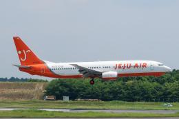 らむえあたーびんさんが、成田国際空港で撮影したチェジュ航空 737-82Rの航空フォト(飛行機 写真・画像)