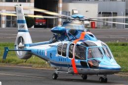 きりしまさんが、東京ヘリポートで撮影した警視庁 EC155B1の航空フォト(飛行機 写真・画像)