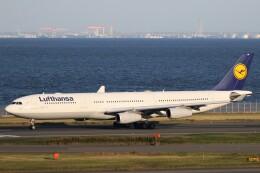 ドラパチさんが、羽田空港で撮影したルフトハンザドイツ航空 A340-313Xの航空フォト(飛行機 写真・画像)