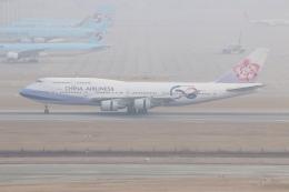 NIKEさんが、仁川国際空港で撮影したチャイナエアライン 747-409の航空フォト(飛行機 写真・画像)