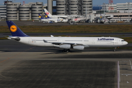 TIA spotterさんが、羽田空港で撮影したルフトハンザドイツ航空 A340-313Xの航空フォト(飛行機 写真・画像)