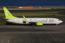 TIA spotterさんが、羽田空港で撮影したソラシド エア 737-86Nの航空フォト(飛行機 写真・画像)