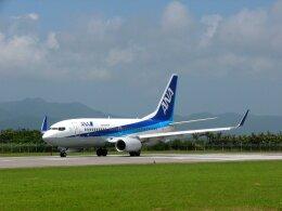 frankさんが、石垣空港で撮影した全日空 737-781の航空フォト(飛行機 写真・画像)