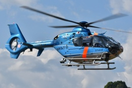 ブルーさんさんが、静岡ヘリポートで撮影した福岡県警察 EC135P2+の航空フォト(飛行機 写真・画像)