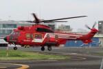 ほてるやんきーさんが、東京ヘリポートで撮影した東京消防庁航空隊 EC225LP Super Puma Mk2+の航空フォト(飛行機 写真・画像)