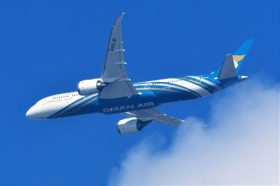 Hiro Satoさんのオマーン航空 Boeing 787-9 (A4O-SI) 航空フォト