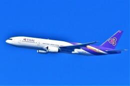 Hiro Satoさんが、スワンナプーム国際空港で撮影したタイ国際航空 777-2D7の航空フォト(飛行機 写真・画像)
