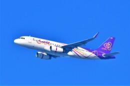 Hiro Satoさんが、スワンナプーム国際空港で撮影したタイ・スマイル A320-232の航空フォト(飛行機 写真・画像)