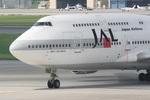 肉食獣さんが、那覇空港で撮影した日本航空 747-446Dの航空フォト(写真)