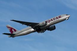 simokさんが、関西国際空港で撮影したカタール航空カーゴ 777-FDZの航空フォト(飛行機 写真・画像)