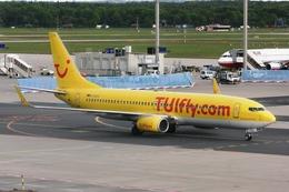 kinsanさんが、フランクフルト国際空港で撮影したトゥイフライ 737-8K5の航空フォト(飛行機 写真・画像)