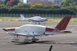 Hiro-hiroさんが、調布飛行場で撮影した日本法人所有 TB-10 Tobagoの航空フォト(飛行機 写真・画像)