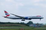 らむえあたーびんさんが、成田国際空港で撮影したブリティッシュ・エアウェイズ 787-9の航空フォト(飛行機 写真・画像)