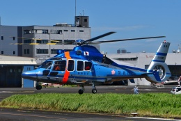 Mizuki24さんが、東京ヘリポートで撮影した警視庁 EC155B1の航空フォト(飛行機 写真・画像)