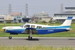 Hii82さんが、八尾空港で撮影した日本個人所有 PA-32R-301T Turbo Saratoga SPの航空フォト(飛行機 写真・画像)